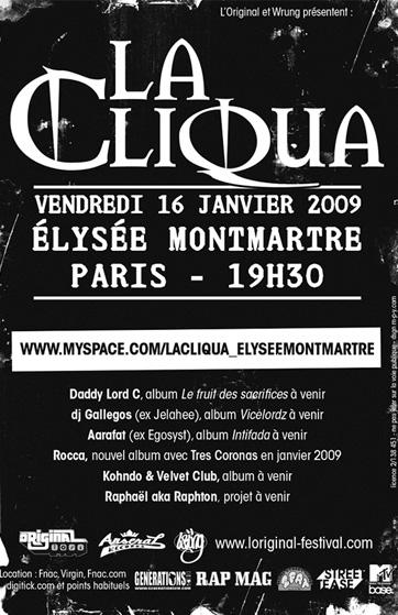 LA CLIQUA thefatblog.fr the fat blog